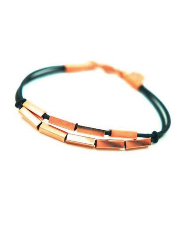 bracelet acier inoxydable cuivré