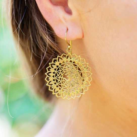 boucles d'oreilles acier inoxydable